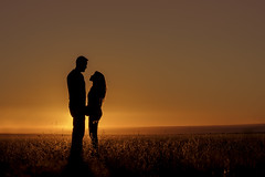 """""""The value and quality of any love is determined solely by the lover himself."""" (Mitch Tillison Photography) Tags: sunset portrait newmexico southwest love beautiful grass silhouette photography photo engagement amazing couple solitude peace desert gorgeous united naturallight romance lovers romantic mesa goldenhour tamron70200f28 mitchtillison nikond750"""
