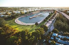 Проект серфинг-парка Subi Sufr Park в Австралии от MJA Studio