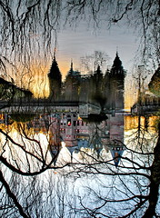dreamy (Mattijsje) Tags: trees reflection castle water fairytale reflections de bomen shadows tail dream silhouettes fairy dreamy tale droom haarzuilens kasteel weerspiegeling haar reflectie distortions dromerig spiegeling sprookje schaduwen sprookjes dreamcastle luchtkasteel sprookjeskasteel droomkasteel
