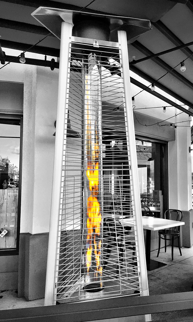 U0026quot;Ethereal Rhapsodyu0026quot; A Futuristic Looking Patio Heater Bekons To  The Shivering Shopper With