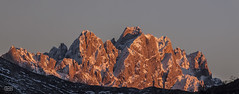 Luz de atardecer/ Evening light (Jose Antonio. 62) Tags: espaa snow mountains photography spain colours nieve asturias peaks picos montaas picosdeeuropa torrecerredo