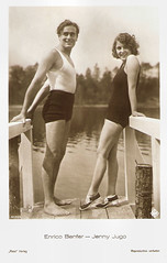 Enrico Benfer and Jenny Jugo (Truus, Bob & Jan too!) Tags: italy lake cinema film sepia vintage germany movie deutschland star ross 1930s glamour italian kino european silent postcard jenny picture cine screen suit sound actress movies actor postal bathing swimsuit postale swimwear cartolina carte enrico deutsch austrian allure italiano jugo ufa postkarte filmstar ansichtskarte attore schauspieler schauspielerin ansichtkaart filmster postkaart benfer tarjet jennyjugo rossverlag briefkarte enricobenfer vriefkaart