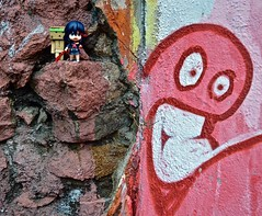In search of the monster!  (Damien Saint-) Tags: toy amazon vinyl yotsuba danbo revoltech goodsmile danboard killlakill ryukomatoi