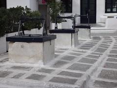 Plaza de los tres pozos. Chora. Isla de Mikonos. Grecia (escandio) Tags: 3 grecia chora mikonos 2015 cicladas islademikonos