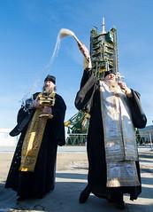 Expedition 46 Soyuz Blessing (NHQ201512140035) (NASA HQ PHOTO) Tags: nasa blessing priest kazakhstan kaz baikonur baikonurcosmodrome russianorthodoxpriest soyuzrocket joelkowsky launchpad1 russianfederalspaceagencyroscosmos expedition46 soyuztma19m expedition46preflight