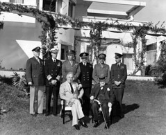 President Roosevelt, Prime Minister Churchill, and their combined Chiefs of Staff at the the Casablanca conference, Jan 14-24, 1943. (HarryKidd) Tags: casablanca presidentroosevelt primeministerchurchill sircharlesportal siralanbrooke ltgenhharnold gengeorgecmarshal admiralsirdudleypound