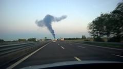 WP_20151020_002 (Luigi Mengato) Tags: incendio autostrada incidente