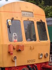 Doris the Network Rail train at Ipswich (16-05-2005) (APB Photography™) Tags: station train railway laboratory ipswich networkrail class101