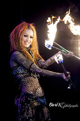 Shelly d'inferno (David K photographie) Tags: pyrohex shelly dinferno brusselstattooconvention performer fire sexy smile redhair davidk rockphotographer