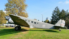 Amiot AAC.1 Toucan (Licenced in France build Junkers Ju.52/3m) c/n 222 Yugoslavian Air Force serial 7208 (sirgunho) Tags: aeronautical museum belgrade serbia aviation preserved aircraft helicopters jet fighters airport amiot aac1 toucan licenced france build junkers ju523m cn 222 yugoslavian air force serial 7208