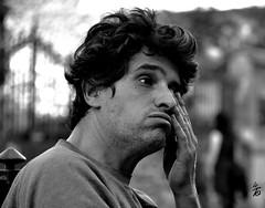 _DSC2003 - Portrait (Le To) Tags: extrieur noiretblanc nerosubianco bw monochrome portrait ritratto homme