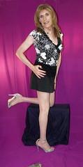 March 2016 (107) (Rachel Carmina) Tags: cd tv ts tg trap tgirl femboi legs nylons heels crossdresser transgender transvstite transvestito