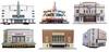 Cinemas (kingsway john) Tags: kingsway models card building kits oo gauge 176 scale model kit gaumont odeon embassy dominion capitol abc studio7 kingston kinema