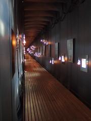The Steilneset Memorial, Vard - Interior (1) (Phil Masters) Tags: vardo norwayholiday norway july2016 19thjuly vard steilnesetmemorial steilneset memorial peterzumthor installationart