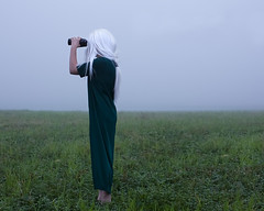Land's Limit (Patty Maher) Tags: conceptual limit fog binoculars surreal