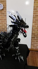 Brickfest @ Medowie (KPowers67) Tags: rainbow bricks medowie brickfest lego brick show dragons trojan horse rural airport city layout monorail tram line train vw combi ghostbusters lord rings harry potter disney castle star wars apollo moon mission elves friends