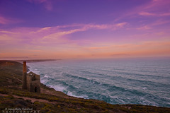 Cornish Mine (JamieMarie Oaksford) Tags: cornwall unitedkingdon england cornish cornwalluk beach seascape sea