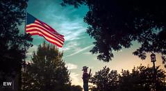 Glowing Sky (fenderltd) Tags: texas usa flag sky clouds beautiful stunning epic statefair bigtex shadows fair luminance
