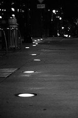 stoale_s1 (samanthatoalephotography) Tags: night black white blackandwhite bw downtown downtowncolumbus ohio columbusohio light dark darkness city path street