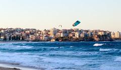 Kite surfing (3) (geemuses) Tags: kitesurfing windsurfing surfing watersports strongwinds ocean sea beach