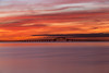 Red Sky at Morn (Bob90901) Tags: redsky morn greatsouthbay longisland newyork longexposure bay sky clouds color light rpg90901 nauticaltwilight canon 6d canonef70200mmf28lisiiusm canon70200f28lll robertmosescauseway summer bergenpoint bridge westbabylon water coast shore brilliant cloudsstormssunsetssunrises
