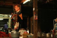 the king in a food shop (the foreign photographer - ) Tags: king thailand khlong thanon food shop bangkhen bangkok canon kiss 400d