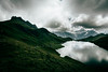 Bachalpsee (noberson) Tags: bachalpsee grindelwald schweiz switzerland lake clouds weather storm mountain mountains alps green reflection reflections nikon tokina