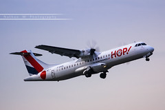 LIL - ATR 72-212A (F-GVZL) HOP! Air France (Aro'Passion) Tags: lil lfqq lille lesquin 60d lillelesquin hop aropassion airport aircraft airlines aroport natw photography photos atr atr72 72212a 72500 monteinitiale variopositif dcollage departing takeoff fgvzl airlinair