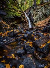 Snook Kill Falls (KAOS Imagery) Tags: waterfalls rocks leaves wilton ny