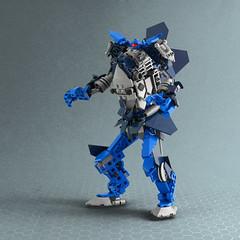 Nexonator (Legopard) Tags: lego nexo knights nexoknights space mech robot blue