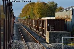 Shale wagons at Limerick, 22/10/16 (hurricanemk1c) Tags: limerick railways railway train trains irish rail irishrail iarnrd ireann iarnrdireann 2016 shalewagons