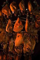 La stagione dei prosciutti (fabio.venturuzzo) Tags: prosciutto jamon museo red orange meat pig