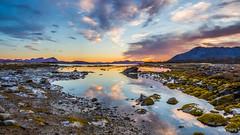 Sunset - Vedhoggan, Norway.jpg (SWTRIPS) Tags: norway vedhoggan beach sunset cloud reflection swtrips roadtrip olympus scandinavia