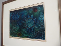 Paul Klee - Bluten in der Nacht (Blossoms in the Night) (c_nilsen) Tags: sanfrancisco california digital digitalphoto sanfranciscomuseumofmodernart museum art painting paulklee