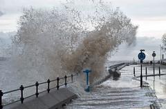 Splash ! (f22photographie) Tags: newbrighton wirral merseyside rivermersey waves weather stormyweather water hightide windy leicase