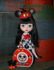 Happy Birthday Mickey Mouse!!