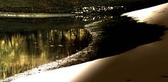 du solide au liquide... la neige n'est plus éternelle... (christophebiget) Tags: