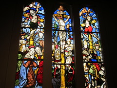 The Crucifixion - 1510-1530 - Walters Art Museum (bronxbob) Tags: baltimore maryland museums artmuseums waltersartmuseum stainedglass thecrucifixion