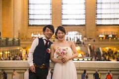 Un casamiento (Bernardo Roggio) Tags: canon eos 6d 2470mm f28l ii usm bernardo roggio wedding usa united states new york grand central station train casual risa casamiento