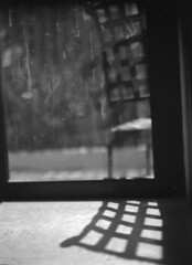 Home Life  (Leicaflex SL) (PositiveAboutNegatives) Tags: leica shadow blackandwhite bw film window morninglight kodak trix coolscan leitz 50mmsummicron leicaflexsl blackandwhitefilmphotography leicafilmphotography freefilmimages freefilmpictures