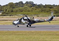 Hind (Bernie Condon) Tags: uk tattoo plane flying czech display aircraft aviation military attack assault airshow hind airfield ffd fairford riat raffairford airtattoo mil24 riat15