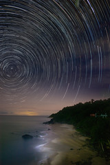 startrail san pancho (El Temoc) Tags: canon noche estrellas 24mm polar 6d startrail samyang intervalometro circunpolar