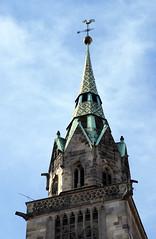 Nrnberg, Lorenzer Platz, Lorenzkirche - St. Lawrence Church (HEN-Magonza) Tags: germany bayern deutschland bavaria nuremberg franconia franken nrnberg lorenzerplatz lorenzkirche stlawrencechurch stlorenzkirche