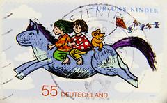 wonderful stamp Germany 55c (for us children; Fr uns Kinder)  timbre Allemangne    sellos Alemania selos Alemanha   frimerker Tyskland markica Njemaka pullari Almanya       postzegels duitsland francobolli (thx for sending stamps :) stampolina) Tags: horse postes germany children stamps kinder stamp nia alemania enfant timbre tyskland allemagne tem pferd postzegel alemanha duitsland selo bolli bambino sello sellos briefmarken frimrken briefmarke  francobollo selos timbres frimrker almanya  njemaka lania  timbreposte francobolli bollo  zegels pullar  zegel znaczki markica  perangko frimerker frimaerke pullar        blyegek  antspaudai raztka osmidos