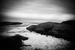 *** (bendikjohan) Tags: autumn bw white seascape black fall norway landscape blw scandinavia bnw waterscape oceanscape