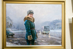 Painting of a Traffic-Guard