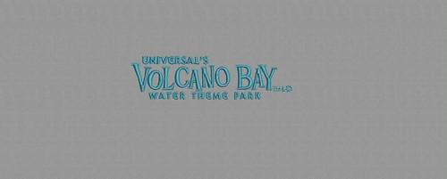 Universal Studios - Volcano Bay - design digitized by Indian Digitizer