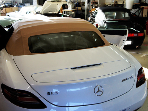 CK-Cabrio Convertible Top For The SLS AMG