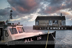 All In (betty wiley) Tags: sunset boat fishing provincetown capecod massachusetts newengland wharf cape cod ptown trawler bettywileyphotography