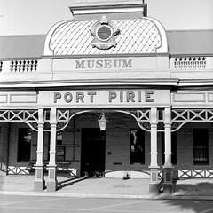 1337 (The Dent.) Tags: blackandwhite film analog port tmax bronica 400 rodinal150 southaustralia sqa pirie 12mins